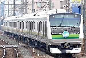 Yokohama Line - A Yokohama Line E233-6000 series EMU