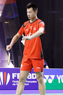 Xu Chen Badminton player