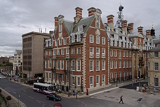 North Eastern Railway (United Kingdom) - The North Eastern Railway headquarters in York built by Horace Field in 1906. Now a hotel