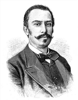 1892 in Italy - Prime Minister Giovanni Giolitti during the first years of his political career.