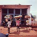 Young salesmen in Porto Novo- Nuoria myyjiä Porto Novossa (16842330141).jpg