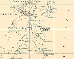 Zanzibar Channel-Zanzibar- city, island, and coast (1872) (14578412270).jpg