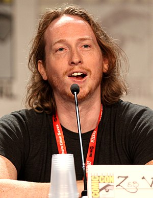 Zeb Wells - Wells at the San Diego Comic-Con International in July 2011