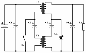 Ćuk converter - Coupled inductor isolated Ćuk converter