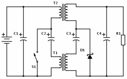 Coupled inductor isolated Cuk converter Zero-IO-ripple-isolated-cuk-converter.png