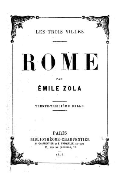 File:Zola - Les Trois Villes - Rome, 1896.djvu