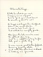"""""""A Bee on the Piazza"""" poem for English IV by Sarah (Sallie) M. Field, Abbot Academy, class of 1904 - DPLA - d833ee37eb94c88a7628d06e954a202b (page 1).jpg"""