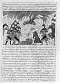 """Alexander the Great and Dying Darius"", Folio from a Majma' al-Tavarikh (Compendium of Histories) of Hafiz-i Abru MET 152078.jpg"