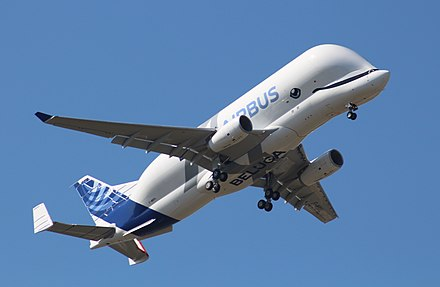 """Beluga XL"" A330-743L during its maiden flight ""Beluga XL"" A330-743L (cropped).jpg"