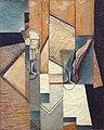 """""""Le livre"""", Juan Gris, 1913. Musée d'Art moderne de la ville de Paris, palais de Tokyo. - Flickr - Lejeune Grégory.jpg"""