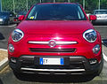 """ 15 - ITALY - Fiat 500X off road Arese - red SUV cool Fashion car 01.jpg"