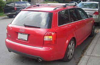 Audi S4 - MY2003–2005 Audi S4 (B6) Avant (Canada)