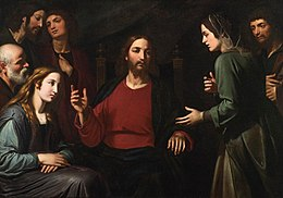 'Christ in the House of Mary and Martha' by Giovanni Bernardino Azzolino.jpg