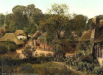 Cockington - Cockington Village, ca. 1890 - 1900.