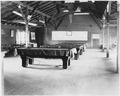 (Five pool tables in recreation hall at the Submarine Base, Los Angeles.) - NARA - 295473.tif