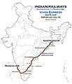 (Santragachi - Mangalore) Vivek Express Route map.jpg