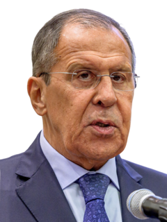 Sergey Lavrov Russian diplomat and politician