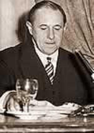 Álvaro Alsogaray - Image: Álvaro Alsogaray circa 1955