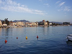 View of Aegina's seafront