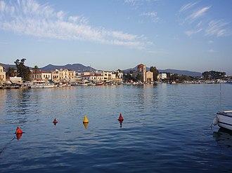 Aegina - View of Aegina's seafront