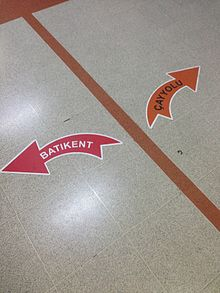 Navigational Floor Signs Are Commonly Used In Complex Environments Such As Shopping Malls And Department Stores