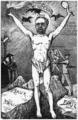 É. Zola accuse le Conseil d'avoir acquitté par ordre Esterhazy - Orens - Le Calvaire Dreyfus - 1899.png