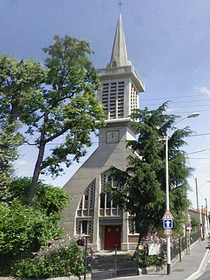 Neuilly-Plaisance - The church of Our Lady of the Assumption, in Neuilly-Plaisance