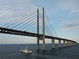 Öresundbrücke nach Malmö