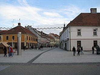 D3 road (Croatia) - Čakovec, on the D3 route