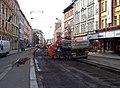 Štefánikova, rekonstrukce TT, zastávka Švandovo divadlo (03).jpg