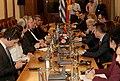 Επίσκεψη, Υπουργού Εξωτερικών, Ν. Κοτζιά στην πΓΔΜ – Συνάντηση ΥΠΕΞ, Ν. Κοτζιά, με Πρόεδρο Βουλής της πΓΔΜ, T. Xhaferi (23.03.2018) (40078031585).jpg