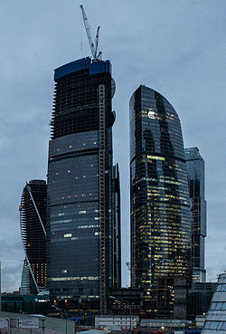 List Of Tallest Buildings In Europe By Year Wikipedia