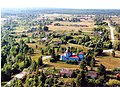 Богородицкая церковь села Боровое вид с самолёта.jpg