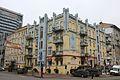 Будинок прибутковий, в якому проживав В. М. Чоломей, відомий вчений у галузі механіки та процесів керування Саксаганського 2.JPG