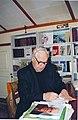 Виктор Астафьев работает в Библиотеке-музее.jpg