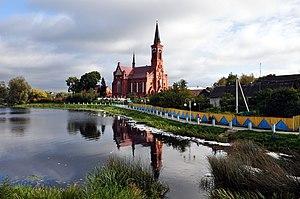 Pastavy - Image: Касцёл св. Антонія Падуанскага