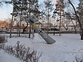 Композиция сбитый фашисткий самолет в мемориальном комплексе-музее Салют, Победа.JPG