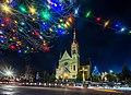 Костел Воздвиження Святого Хреста (Фастів) на Різдво 02.jpg