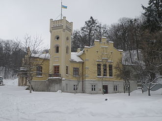 Prosvita - Building where the society was established