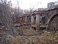 Плотина на реке Ольховке. Подпорная стена..jpg