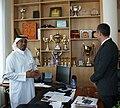 Посещение на министър Николай Младенов в Катар (2-4 октомври 2011) (6211153218).jpg