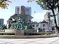 Скверик перед Центральным банком Сеула.jpg