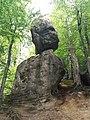 Скельно-печерний комплекс Поляницького регіонального парку (камінь Ванька-встанька).jpg