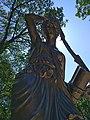 Скульптура Раненая Амазонка, Лечебный парк, Ессентуки.jpg
