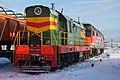 ЧМЭ3-1866, Россия, Архангельская область, станция Коноша-II (Trainpix 154436).jpg