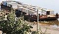 Ярославль (Россия) - посёлок гастарбайтеров на барже (2010 год) - panoramio.jpg