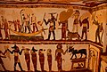 رسومات فرعونية بالقرية.jpg