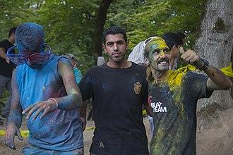 Gorji Mahalleh, Mazandaran - Image: فستیوال نبض گرجی محله جشن رنگ ورزش های نمایشی و سرسره گلی 47