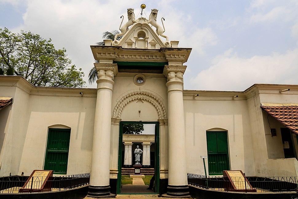 পতিসর রবীন্দ্র কাচারী বাড়ির সুদৃশ্য প্রবেশপথ