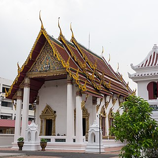 Wat Molilokkayaram Buddhist temple in Bangkok, Thailand